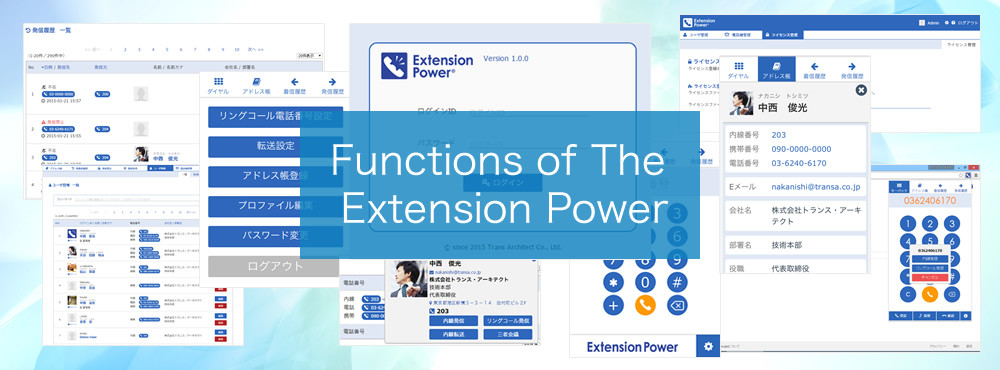 The Extension Power Functions